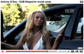 "Aubrey O'Day ""DUB Magazine Sneak Peak"""